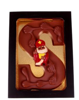 Luxe chocoladeletter melk chocolade